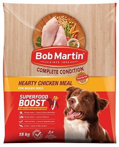 BOB MARTIN ADULT HEARTY CHICKEN LARGE BREEDS 15KG