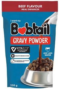 BOBTAIL MEAL ENHANCER GRAVY POWDER BEEF 250G