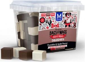 BAGS O' WAGS CHOCOLATE & VANILLA SQUISHIES 400G