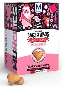 BAGS O' WAGS FRIED BACON MUNCHIES 350G