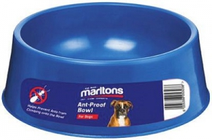 MARLTONS ANTI-ANT PLASTIC BOWL 4LT ASSTD.