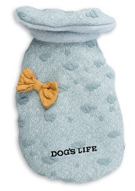 DOG'S LIFE DREAMERS CAPE WITH BOW BLUE LARGE
