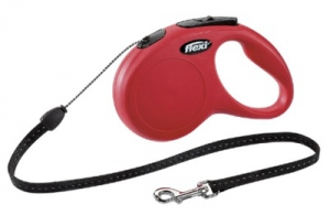 FLEXI CLASSIC S CORD SMALL RED 5M