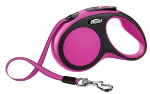 FLEXI CLASSIC S CORD PINK SMALL 5M