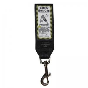 ROGZ UTILITY CAR-SAFE SAFETY BELT CLIP BLACK 40MM