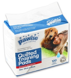 PAWISE QUILTED TRAINING PADS 100-PACK