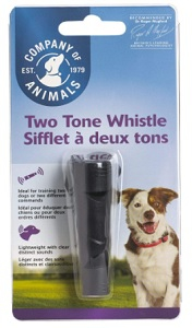 COMPANY OF ANIMALS 2-TONE TRAINING WHISTLE