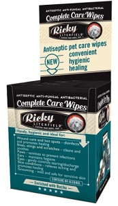 RICKY LITCHFIELD COMPLETE CARE WIPES 10'S