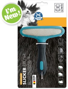 M-PETS SLICKER BRUSH DOUBLE SIDED