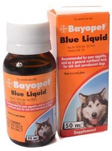 BAYOPET BLUE LIQUID 50ML