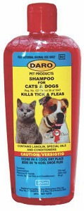 DARO TICK & FLEA SHAMPOO 250ML