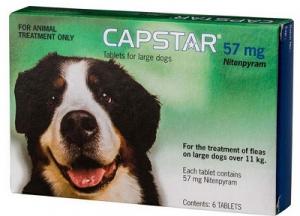 CAPSTAR TICK & FLEA LARGE >11.4KG 6 TABLETS