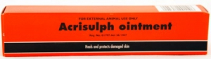 ACRISULPH ANTIBACTERIAL WOUND OINTMENT 50G