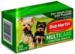 BOB MARTIN CONDITIONING TABS SMALL DOG & PUP 100S