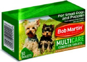 BOB MARTIN CONDITIONING TABS SMALL DOG & PUP 50S