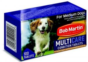 BOB MARTIN CONDITIONING TABS MEDIUM DOG & PUP 100S