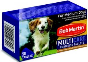BOB MARTIN CONDITIONING TABS MEDIUM DOG & PUP 50S