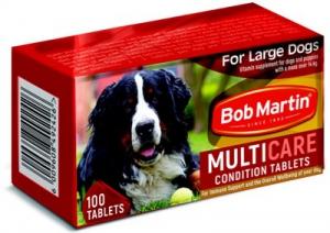 BOB MARTIN CONDITIONING TABS LARGE DOG & PUP 100S