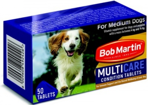 BOB MARTIN CONDITIONING TABS LARGE DOG & PUP 50S
