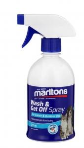 MARLTONS WASH & GET OFF SPRAY 375ML (& CAT)