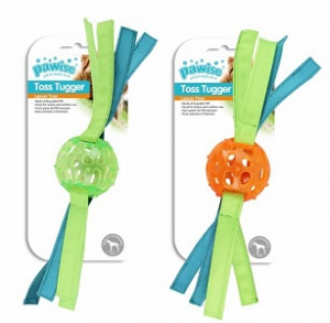 PAWISE TOSS TUGGER SMALL 30CM