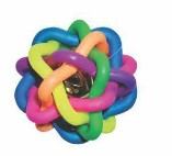 DARO RUBBER TANGLE BALL WITH BELL 11CM