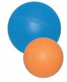 DARO SOLID RUBBER BALL ASSTD. 7.5CM