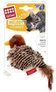GIGWI BIRD MELODY CHASER 14CM