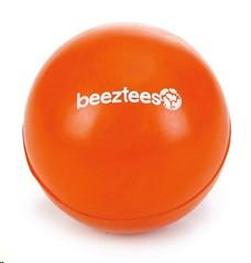 BEEZTEES SOLID RUBBER BALL ORANGE LARGE 6.5CM