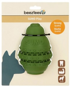 BEEZTEES SUMO PLAY DENTAL TOY GREEN LARGE 10X15CM