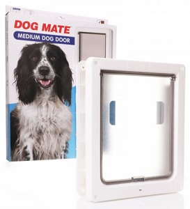 DOG MATE MEDIUM DOG FLAP 26X28CM