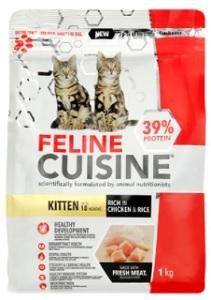FELINE CUISINE KITTEN CHICKEN & RICE 1KG