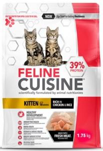 FELINE CUISINE  KITTEN CHICKEN & RICE 1.75KG