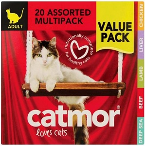 CATMOR MULTIPACK SELECTION 20X85G