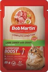 BOB MARTIN ADULT LAMB IN GRAVY 4X85G