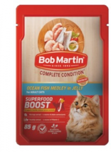 BOB MARTIN ADULT OCEAN FISH MEDLEY 4X85G