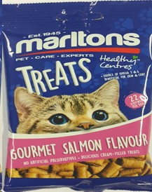 MARLTONS HEALTHY CENTRES GOURMET SALMON 50G