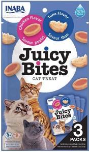 JUICY BITES TUNA & CHICKEN FLAVOUR 33.9G 3PK