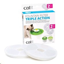 CATIT WATER FOUNTAIN REPLACEMENT FILTER 2PK