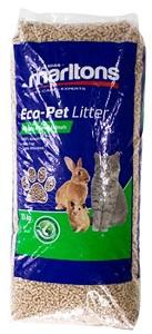 MARLTONS ECO-PET LITTER FOR CAT & SML ANIMALS 15KG