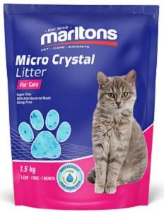 MARLTONS CAT LITTER CRYSTALS 3.6KG