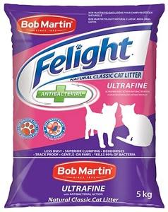 BOB MARTIN NATURAL CLASSIC ULTRA FINE LITTER 5KG