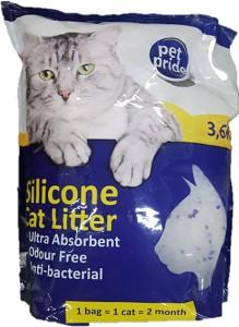 PET PRIDE SILICONE CAT LITTER 3.6KG