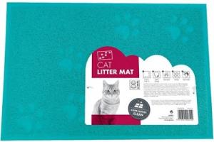 M-PETS CAT LITTER MAT TURQUOISE 30X40CM