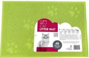 M-PETS CAT LITTER MAT GREEN 30X40CM