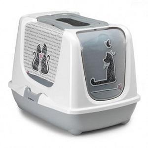 MODERNA TRENDY CAT'S IN LOVE LITTER BOX 39X50X39CM