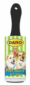 DARO LINT ROLLER WITH PLASTIC HANDLE