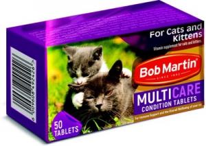 BOB MARTIN CONDITIONING TABLETS ADULT & KITTEN 50S