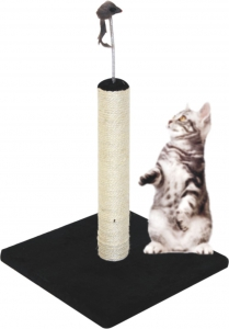 PAWSOME POST WITH TOY DANGLER 40CM