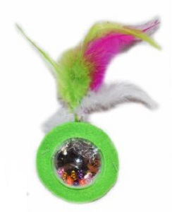 DARO TOY WITH FEATHERS